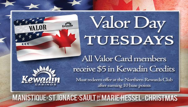 Valor Day Tuesdays