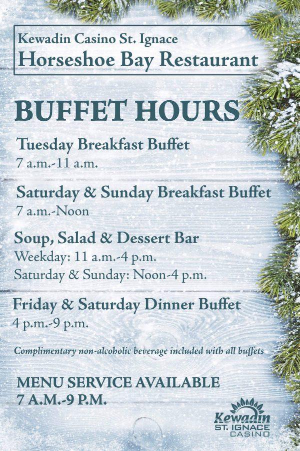 Horseshoe Bay Buffet Hours