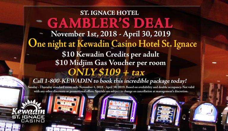 St. Ignace Hotel Gambler's Deal