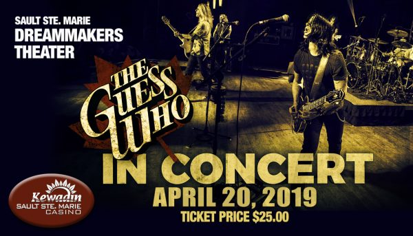 the guess who in concert