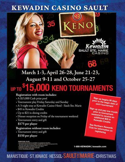 Kewadin Casino Manistique Event Calendar December 2019 Keno – Kewadin Casinos