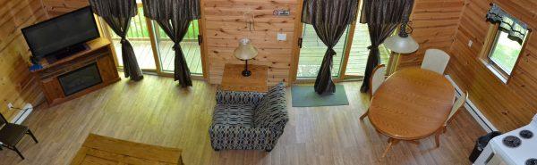Hessel Cabin Interior